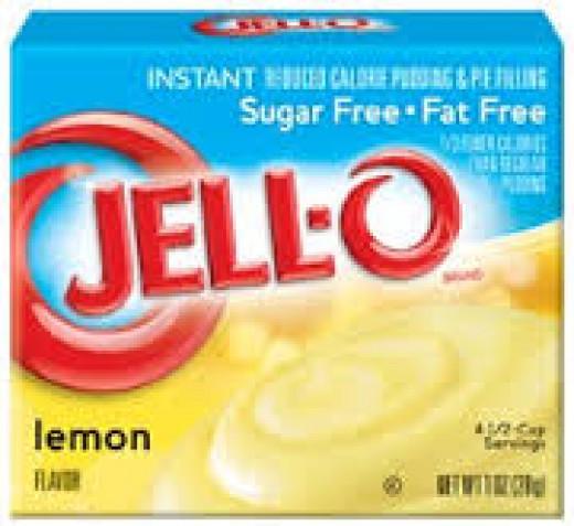 Sugar Free and Fat Free Lemon Pudding