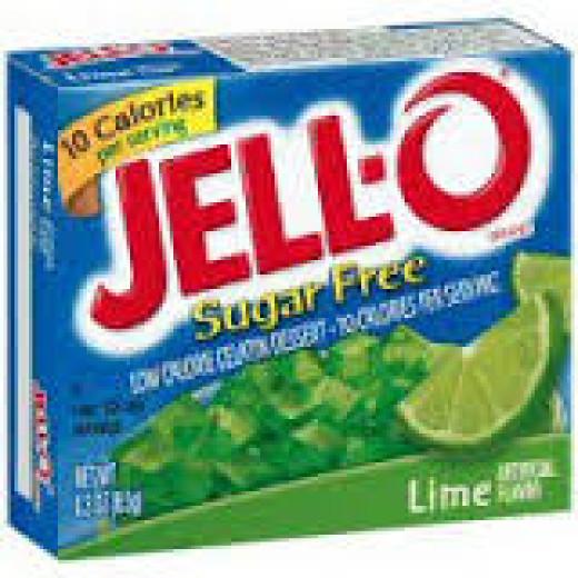 Sugar Free Lime Jell-O