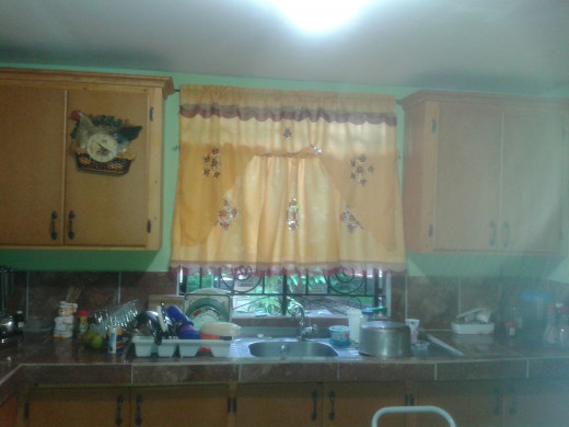 My kitchen after cleaning ;)