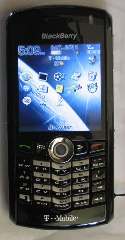 BlackBerry 8100(Pearl)
