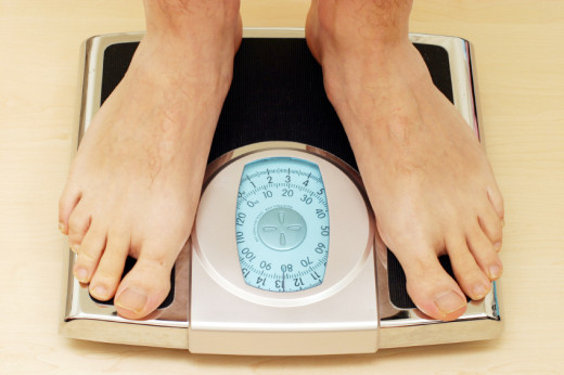 Weigh yourself weekly to see if you are making progress towards your goals