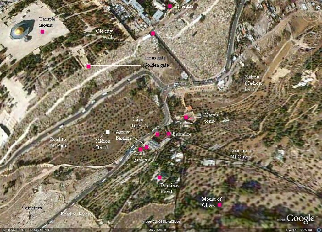 What are the advantages and disadvantages of controling Jerusalem?
