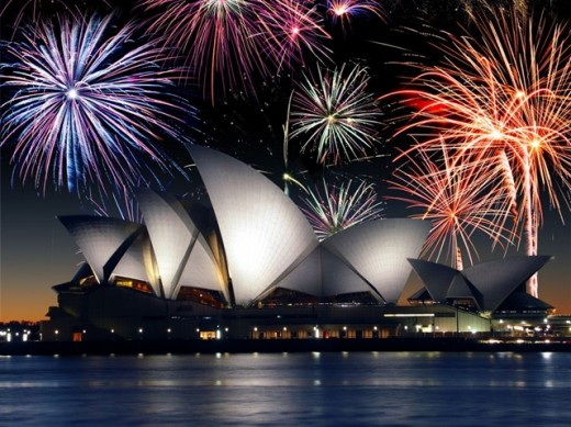 In Sydney: Do you want to view a marvelous sight on New Year's Day with your family or loved ones. Sydney is your best pick.