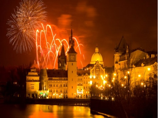 Who would ever resists a vacation and spending the New Year's eve in as romantic place as PRAGUE?