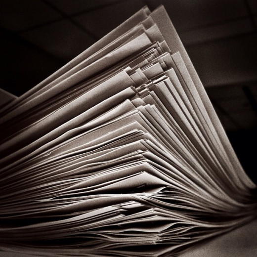 A stack of papers that no one wants to tackle