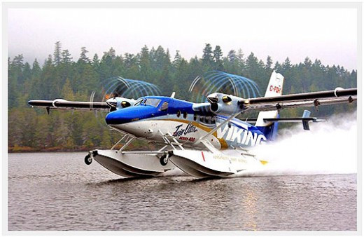 DHC - 6 Twin Otter seaplane