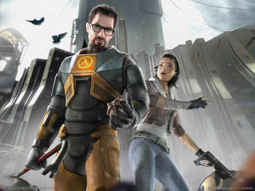 Image from the second Half-Life Game.