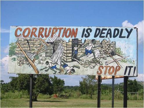 Eradicate Corruption