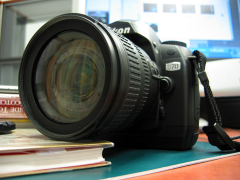 This is a Nikon D70 DSLR.  What do you use to take snap shots?