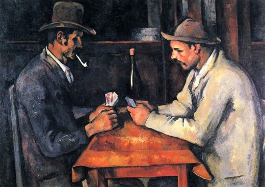 Paul Cézanne's The Card Players is currently the most expensive painting sold.  It fetch almost $270 million.