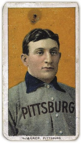 T206 Honus Wagner baseball card is considered as one of the rarest and most expensive baseball cards in the world.