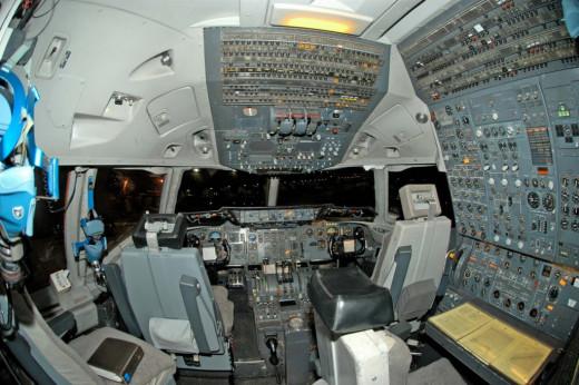 Douglas DC10 Conventional cockpit