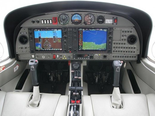Garmin G1000 in Diamond DA42 NG