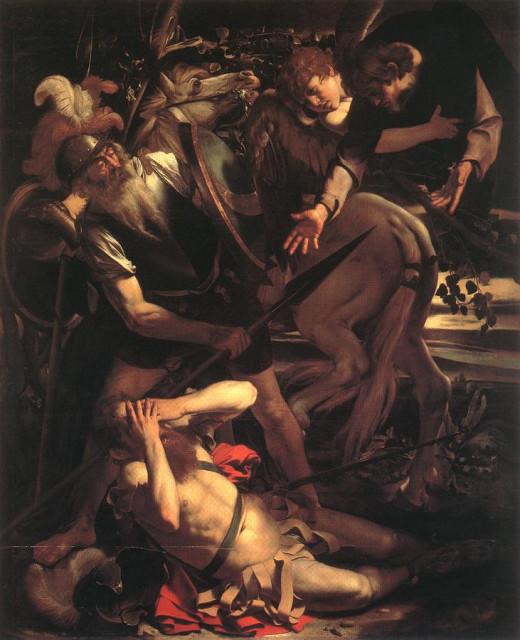 Michelangelo Merisi da Caravaggio - The Conversion of St. Paul (1600) Odescalchi Balbi Collection, Rome