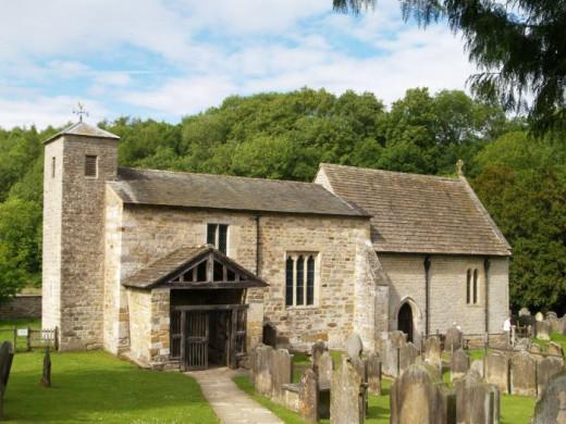 St Gregory's Minster at Kirkdale near Kirkbymoorside, N Yorks
