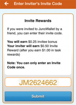 JunoWallet is one of the top money making mobile apps