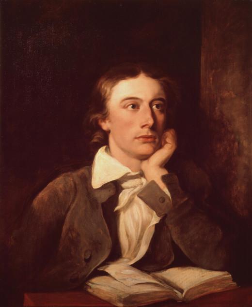 A painting of John Keats.