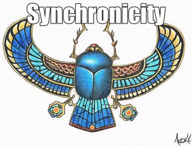 Carl Jung did extensive Synchronicity research and development.  The Beetle is his first reference  point.