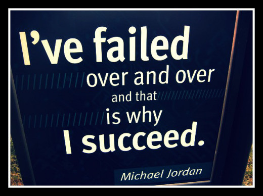 Failure is not a thing to worry upon.  It is  the highway to success!