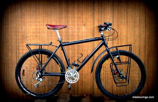 "Mountain Bike for off road trail touring, camping, trekking, an all purpose bike build.  Got my ""Mumbo Jumbo"""