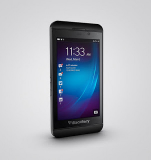 BlackBerry Z10- A revolution