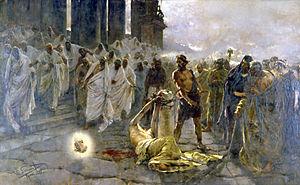 Decapitation of Saint Paul Simonet, 1887