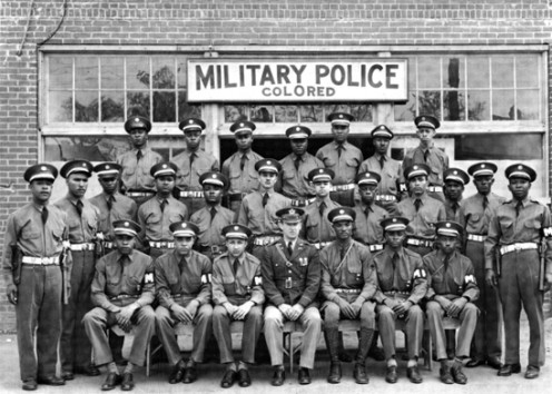 Army Air Force Military Police colored unit at Columbus, Georgia in April 1942. http://en.wikipedia.org/wiki/File:Army_MP.jpg Creative Commons