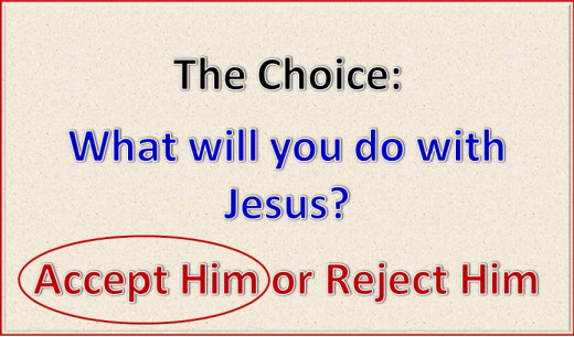I choose Christ!