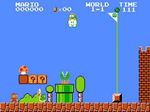 Ah, the classic 8-bit Mario games. So nostalgic.