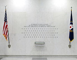 CIA WALL OF HEROS