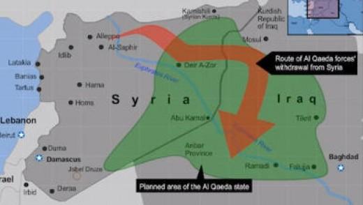 The planned al-Qaeda province