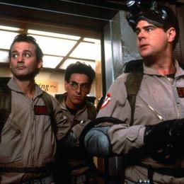 Bill Murray, Harold Ramis and Dan Aykroyd in Ghostbusters