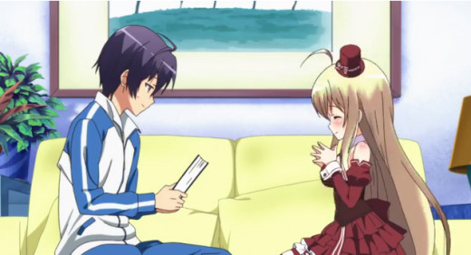 Kanade and Chocolat