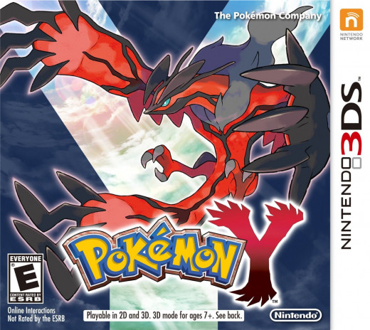 Cover Art of Pokemon Y