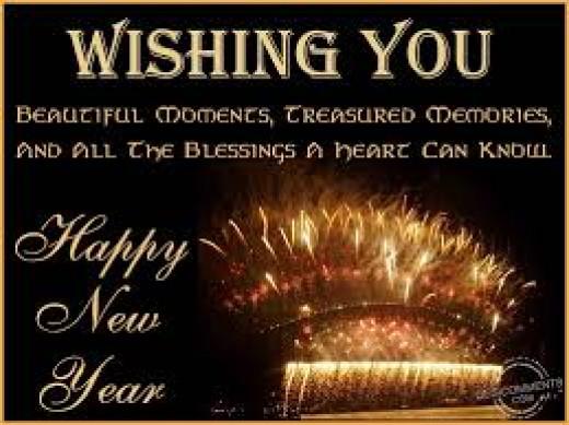 Happy New Year! Celebrate life!