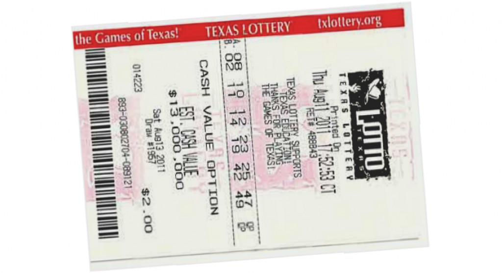 texas lotto ticket numbers