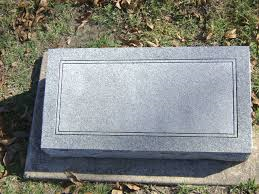 """There's no name on this gravestone. That's odd."""