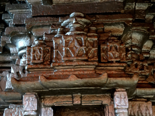 Temple decoration 2; Shiwar