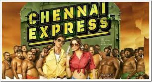 Shahrukh Khan and Deepika Padukone In Chennai Express