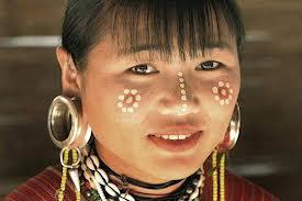 Thai tribal woman