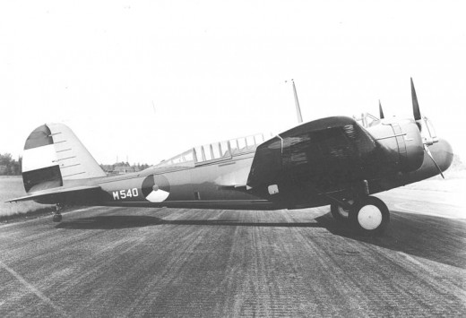 A Martin Model 166 in Royal Netherlands Air Force colors.