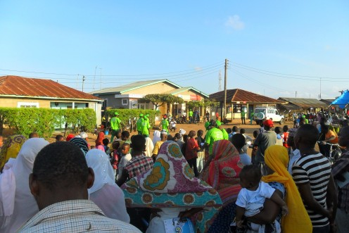 Engaging sub-urban African communities in Community Activities.