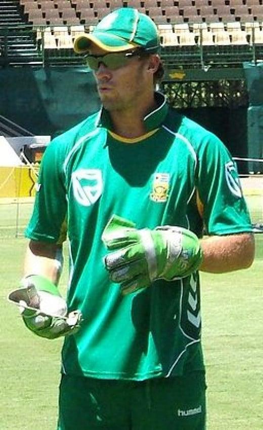 South African captain AB de Villiers