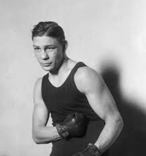 Harry Greb is a former middleweight and light heavyweight boxing legend.
