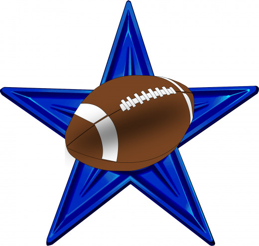 Leather footballs are made in the United States