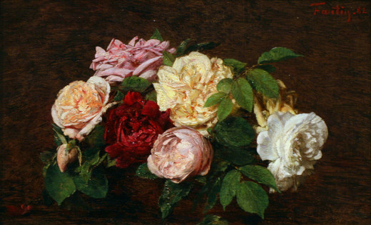 Cliff1066 Flickr creative commons   2     Attribution     Next Roses de Nice on a Table, 1882 by Henri Fantin-Latour, oil on canvas