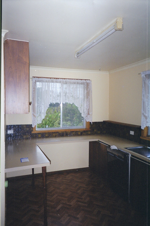 part of the old kitchen after a good scrubbing.