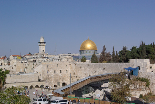 For three religions, this is one of the holiest sites in the world. As a result there is plenty of contention over the site and the method of worship of the same God.