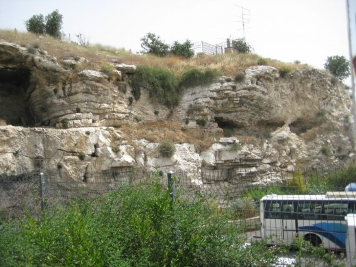 An ancient highway into Jerusalem remains to this day.  It was the site of many executions by crucifixion in biblical days.