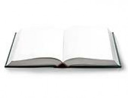 A blank page waiting for the words.